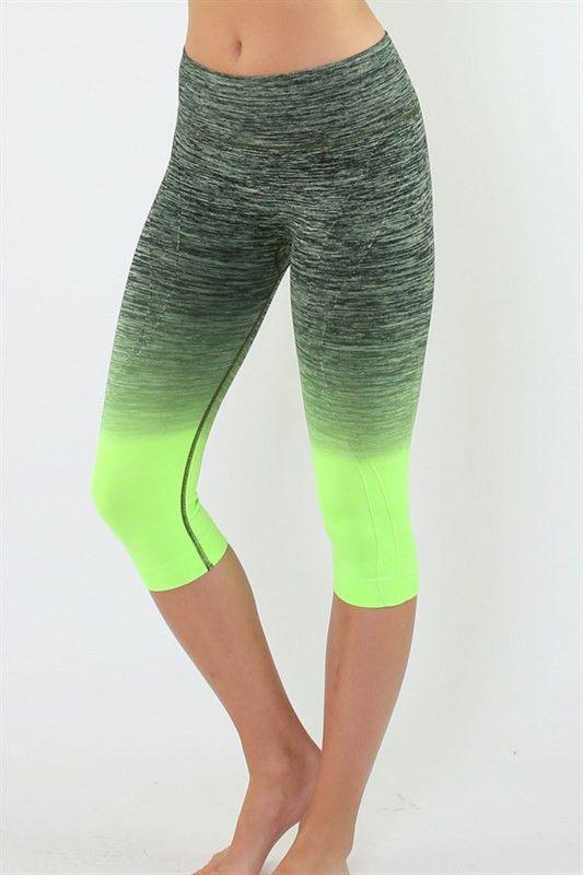 850f935f37 Roozt - Onzie - Summer Tie Dye Capri Yoga Pant-$52.00 Look good and ...
