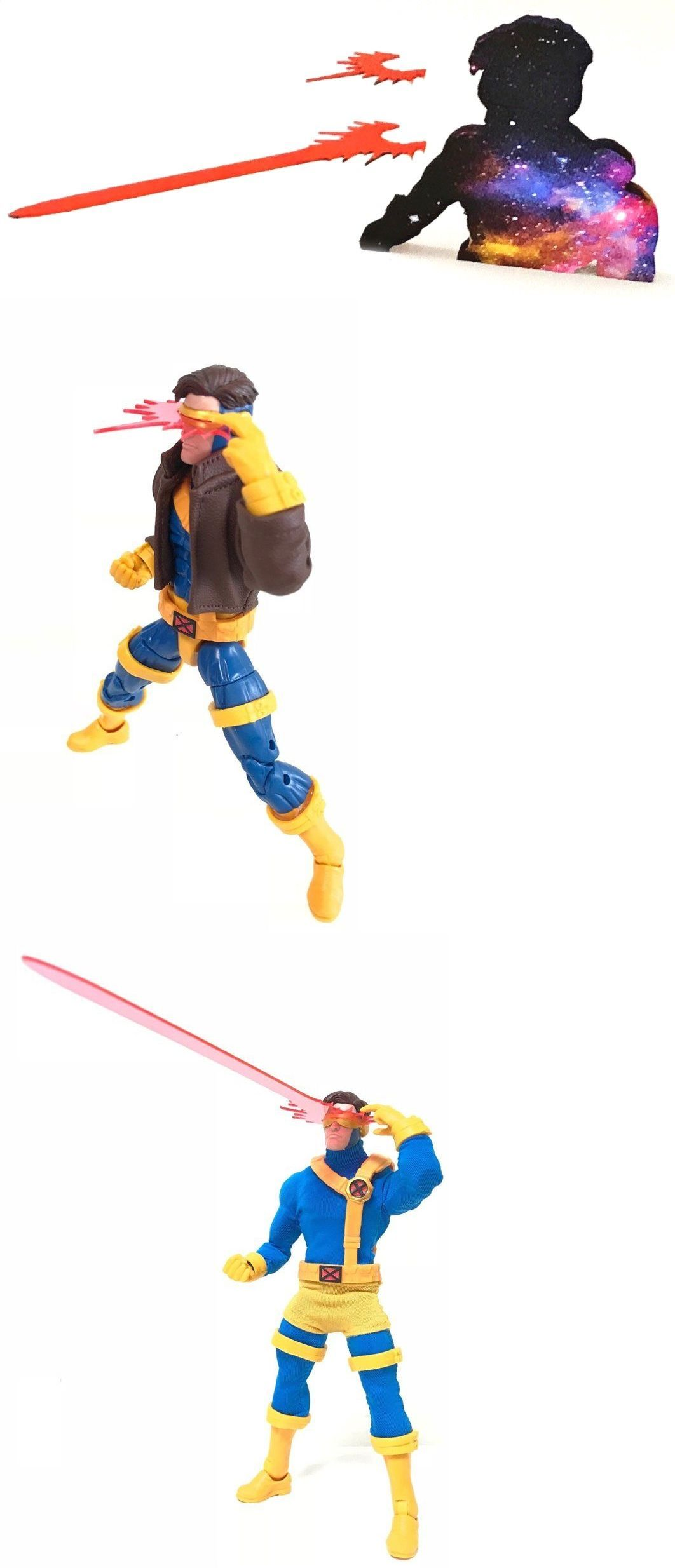 no figure CY-EF2 Custom Optical Blast Effects for Marvel Legends Cyclops