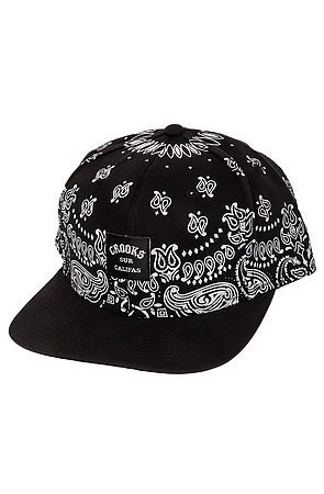 28add5cb5e5 The Bandana Hat in Black by Crooks and Castles use rep code  OLIVE for 20%  off!
