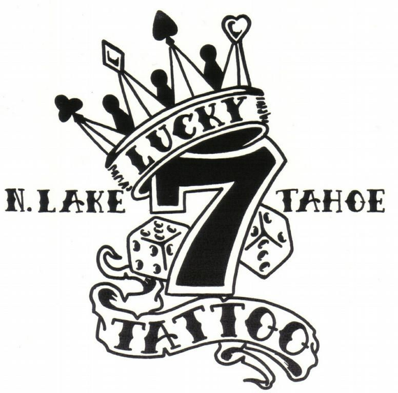 Lucky 7 tattoo designs images for Lucky seven tattoo