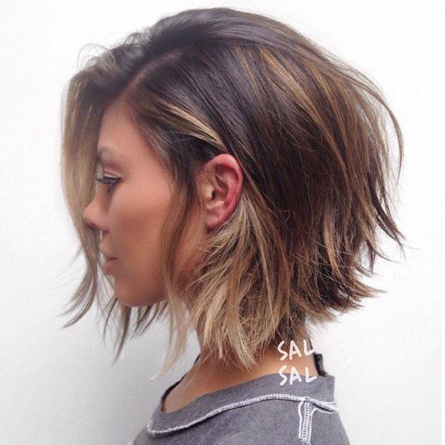 Modele de coiffure cheveux mi long 2018