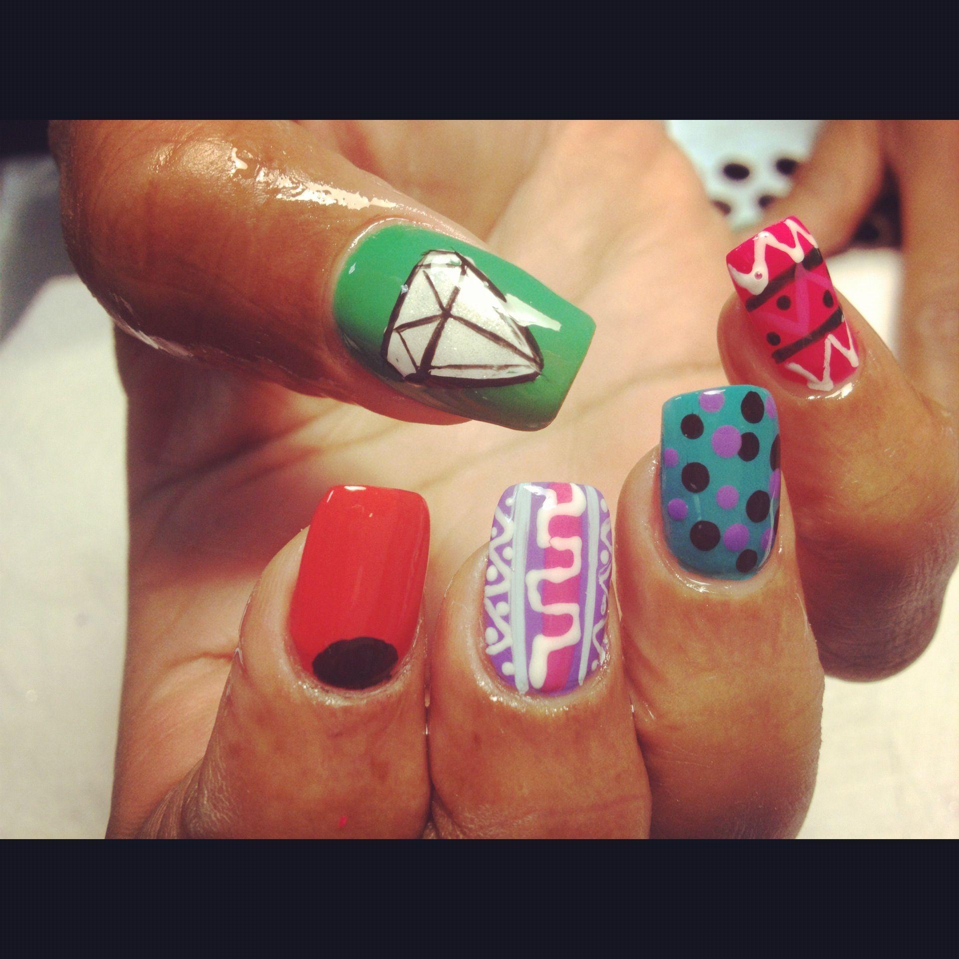 Refill and random designs £35 call NNB 0207 976 6696 | Nice Nails ...