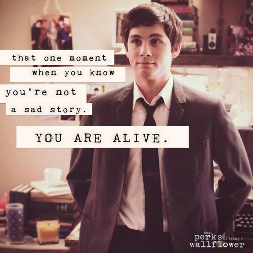 8 The Perks Of Being A Wallflower Quotes I Love This Movie