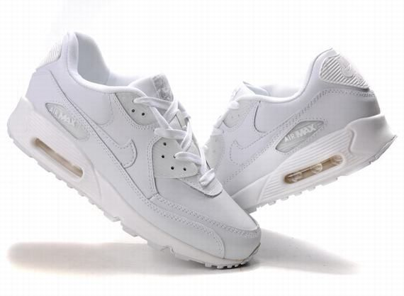 2018 shoes coupon code new authentic Nike Air Max 90 Γυναικεία Running Παπούτσια All λευκό | Nike air ...