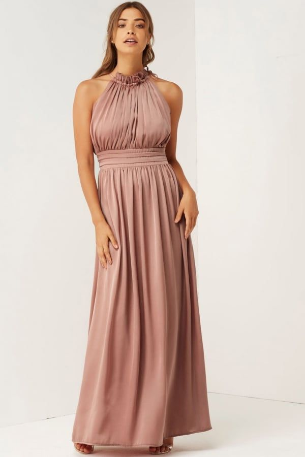 Womens Rose V-Neck Maxi Party Dress Little Mistress Cheap Sale Cheapest Price Discount Codes Clearance Store For Sale Cheap Price From China nuabLX5