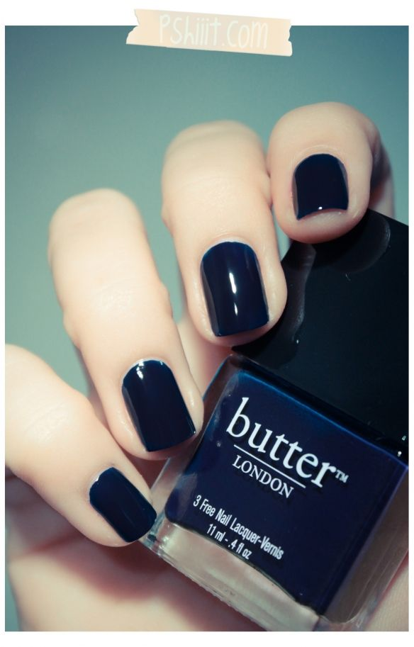 Butter London – Royal Navy // L\'encre marine par excellence | Royal ...