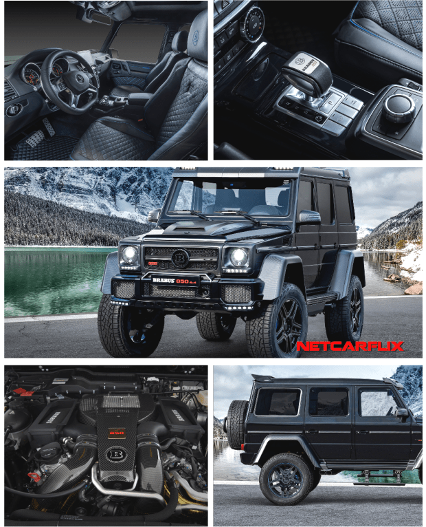 2019 Brabus 850 6.0 Biturbo 4x4² Final Edition |  : 2019 Brabus 850 6.0 Biturbo 4x4² Final Editio