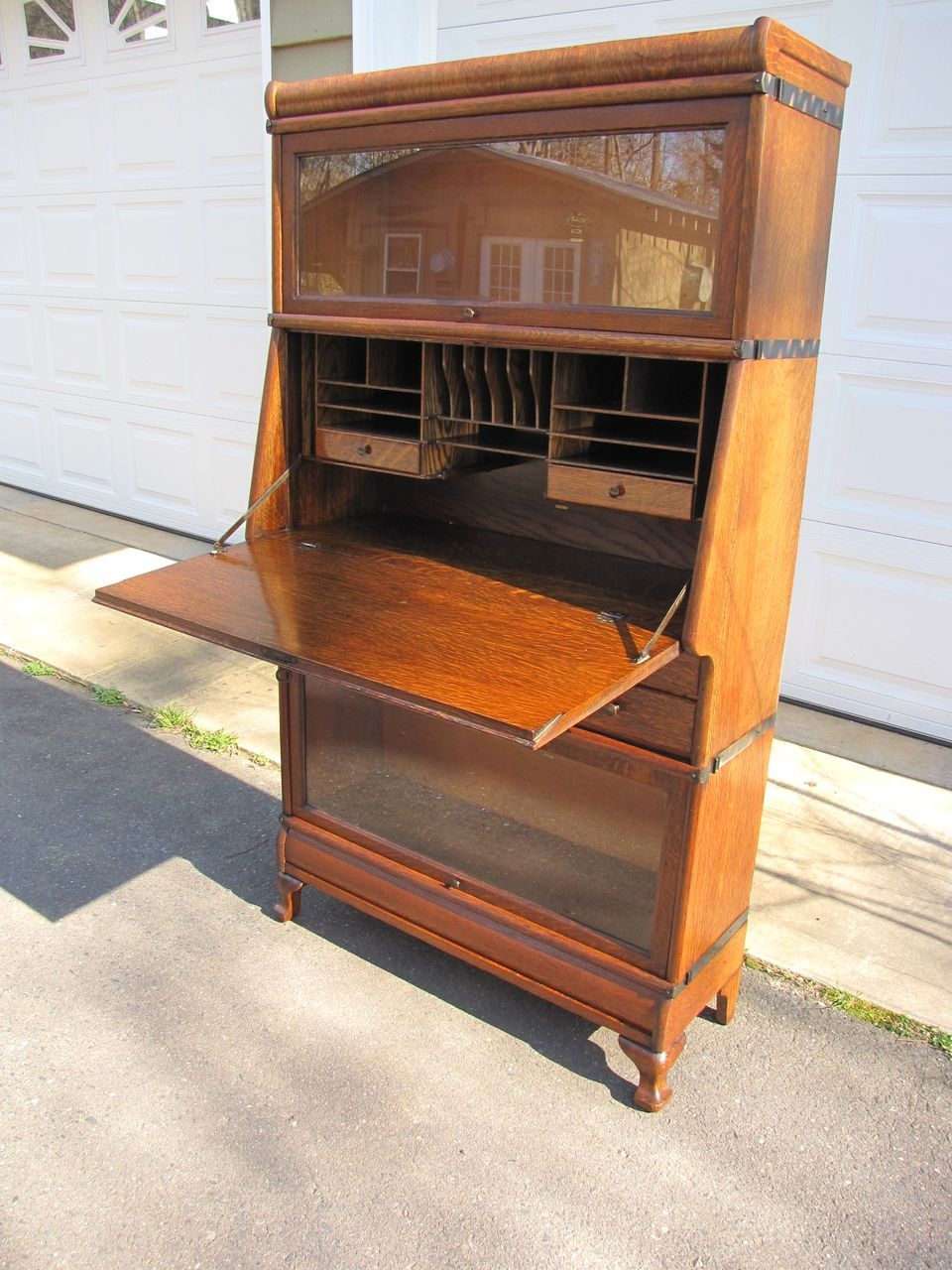 our barrister desk oak barrister bookcase for sale at now and then antique mall
