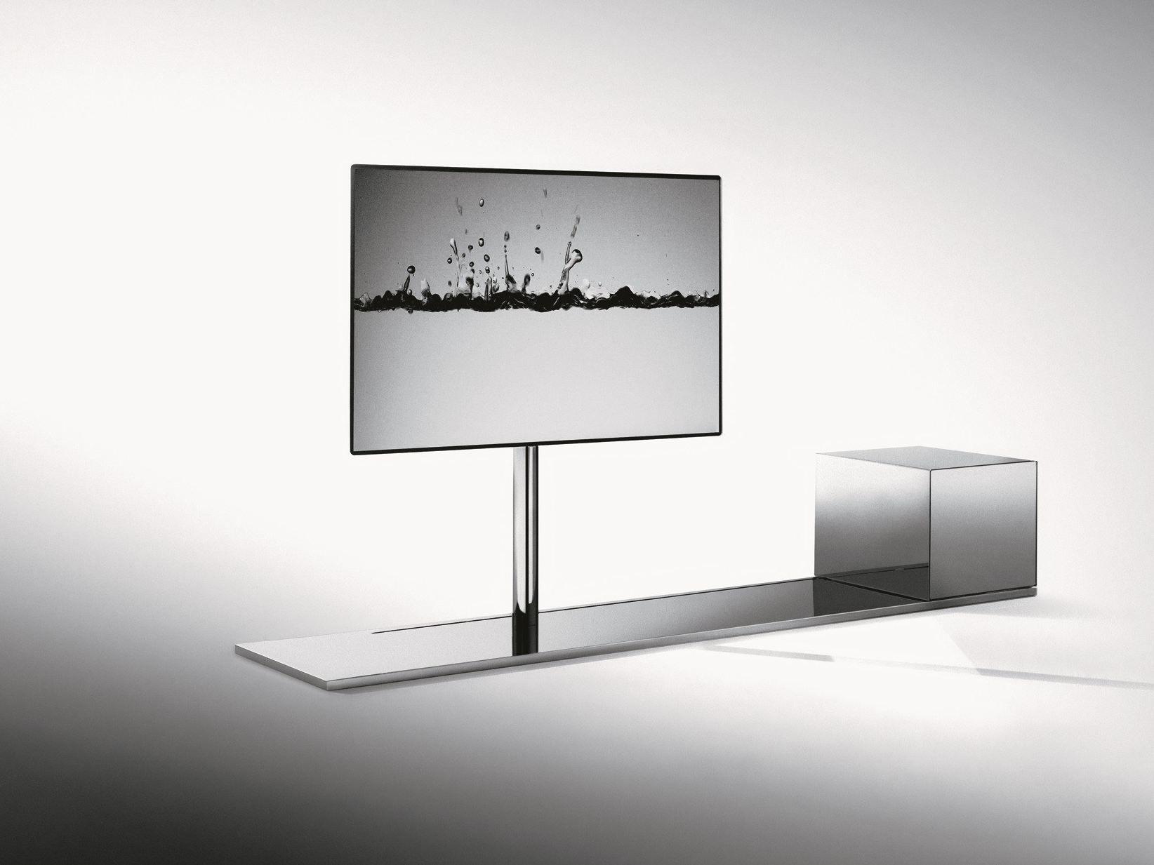 Desalto Porta Tv.Swivel Metal Tv Cabinet Sail 302 By Desalto Design Caronni