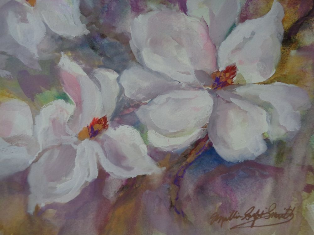 Original MILLIE GIFT SMITH Floral Expressionism Small [up to 14] 2000-now Signed #Expressionism