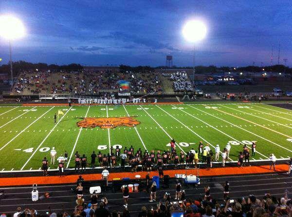 Refugio Bobcats Stadium At Their Game Last Friday Against The Yoe