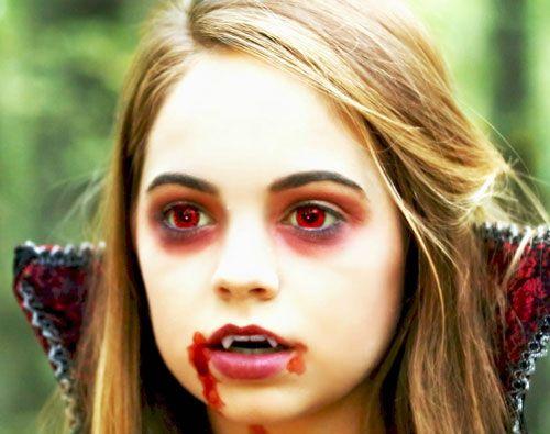 Make-up-bambina-Halloween-2015-Vampiro.jpg (500×395 ...
