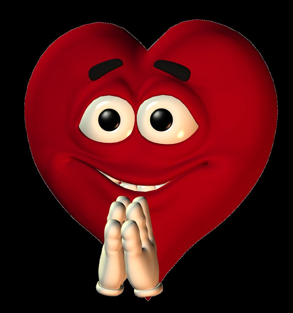 Прикольные сердечка картинки