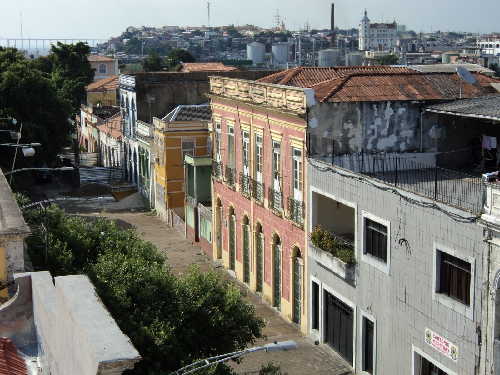 Manaus, Amazonas, Brasil - Rua Bernardo Ramos, no centro histórico