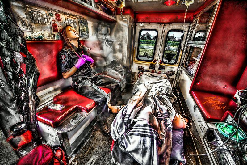 Emergency response portraits dansunphotos art
