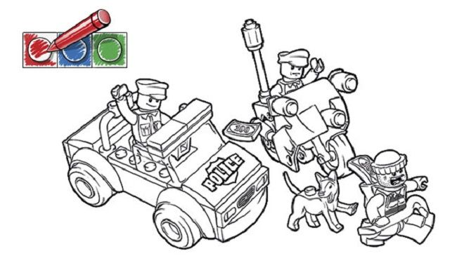 - Lego Police Coloring Pages Lego Coloring Pages, Lego Coloring, Coloring  Pages