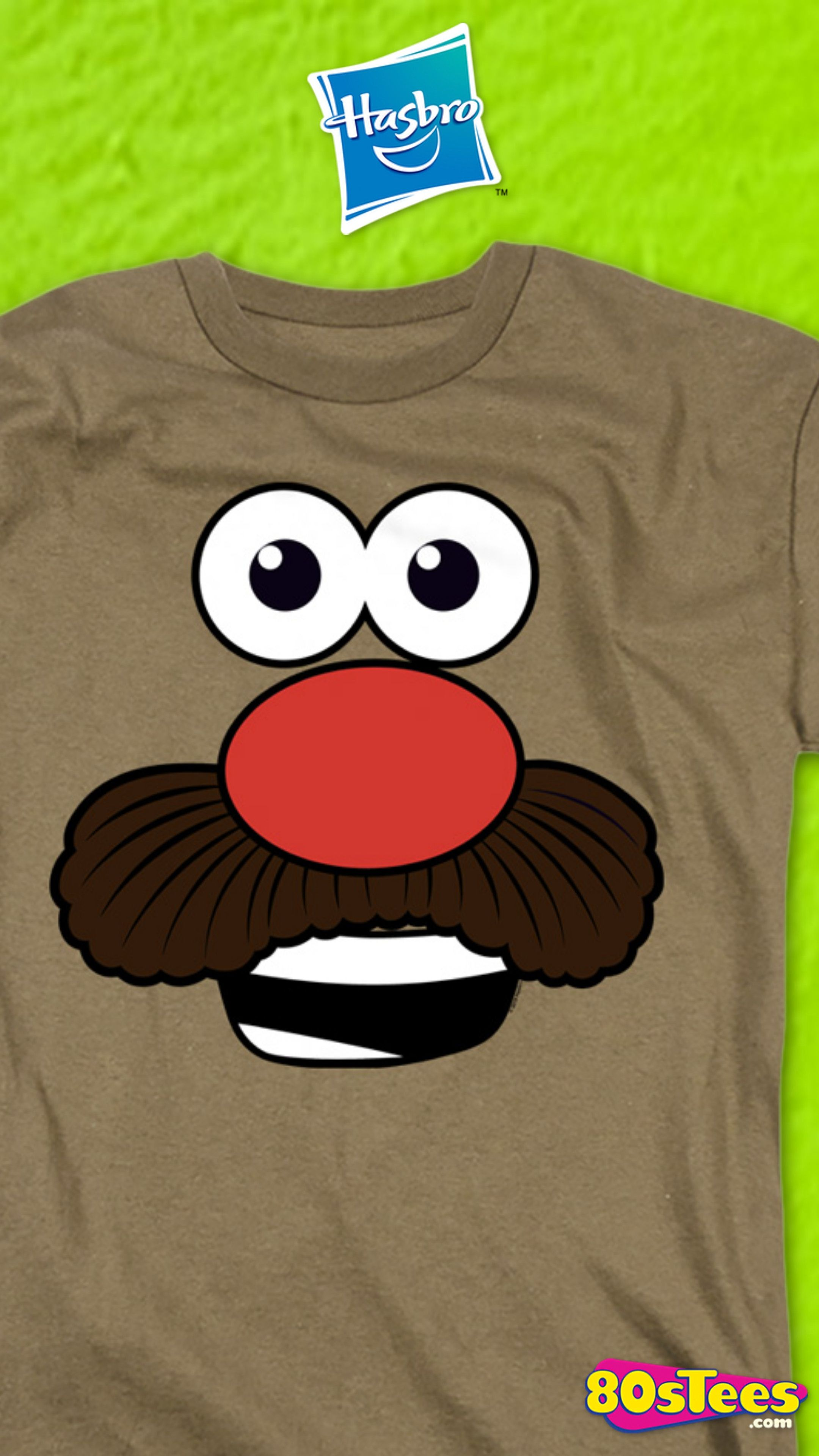 This Mr Potato Head T Shirt Shows The Popular Model Head