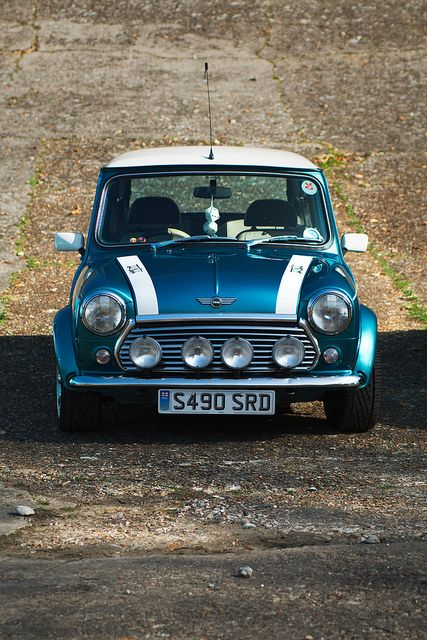 1998 Rover Mini Cooper. My dream ride. Ohhhhh Yaaaaaa