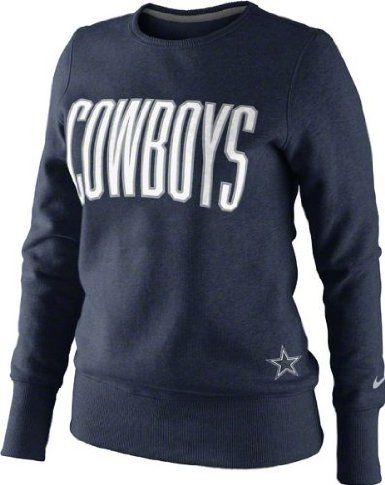 the latest ca569 8fe0a Amazon.com: Dallas Cowboys Women's Navy Nike Tailgater ...