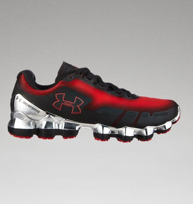 hombres UA Scorpio Chrome Running Zapatos Zapatos Tenis Calzado y Zapatos Running 275392
