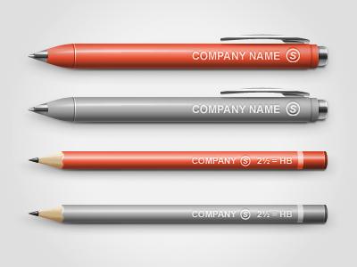 Pen Pencil Mock Up Pen Pens Pencils Mocking