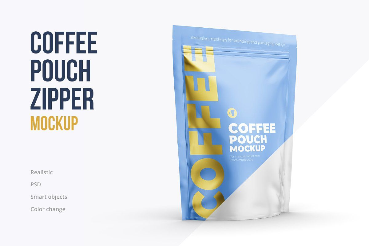 Download Stand Up Pouch Mockup Pack 6 Psd Mockup Coffee Stands Packaging Mockup