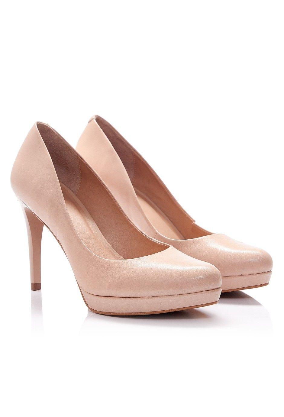 Via Uno - Zapatos 16264501 Atanado Stone nude