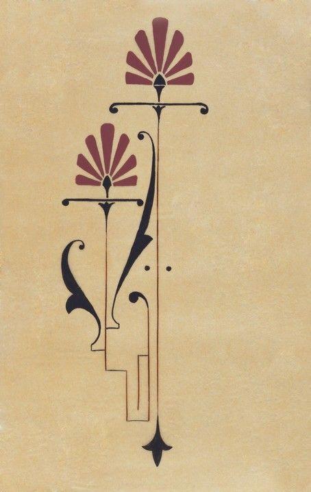 Art Nouveau Flower Tattoo: Pinteres…