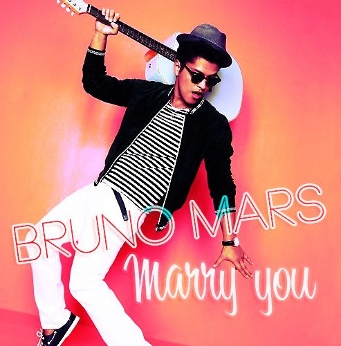 Marry You Bruno Mars Recession Song Bruno Mars Songs Bruno Mars Marry You
