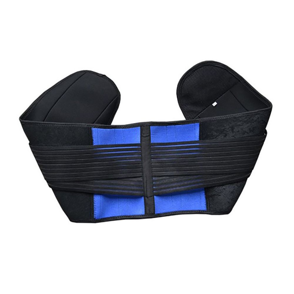 363f06c718 Adjustable neoprene waist support double pull lumbar support brace low in  back belt brace pain relief