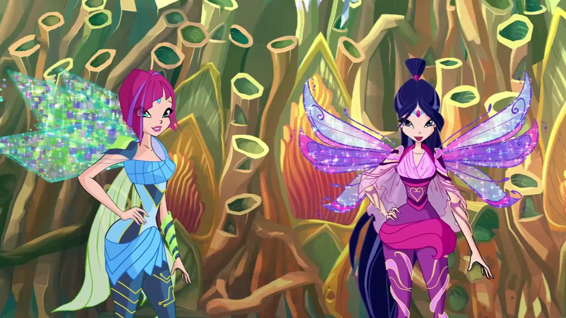 Winx Club 6x05 The Golden Auditorium: Musa and Tecna Bloomix