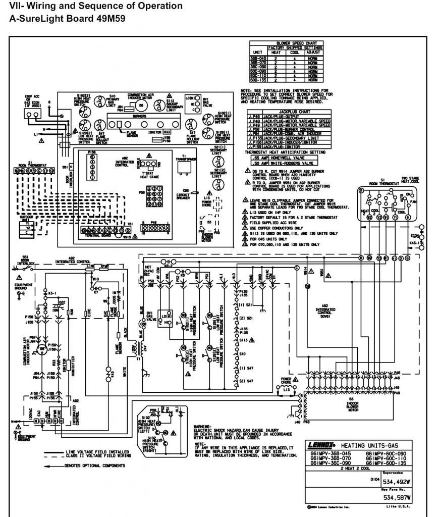 New Lennox Furnace Thermostat Wiring Diagram 70 For Your Directv With Thermostat Wiring Furnace Diagram