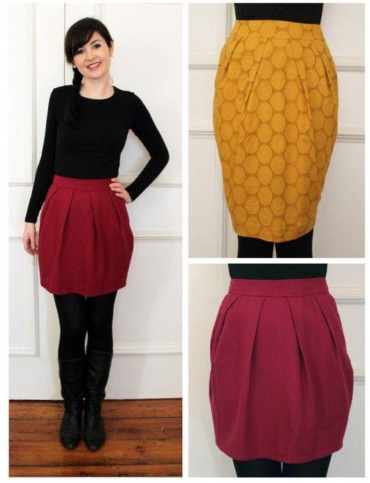 Tulip Skirt Pdf Sewing Pattern Sewing Pinterest Sewing