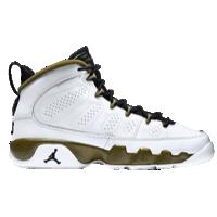 new style cff98 e8d67 Jordan Retro 9 - Boys' Grade School - White / Black   kids ...