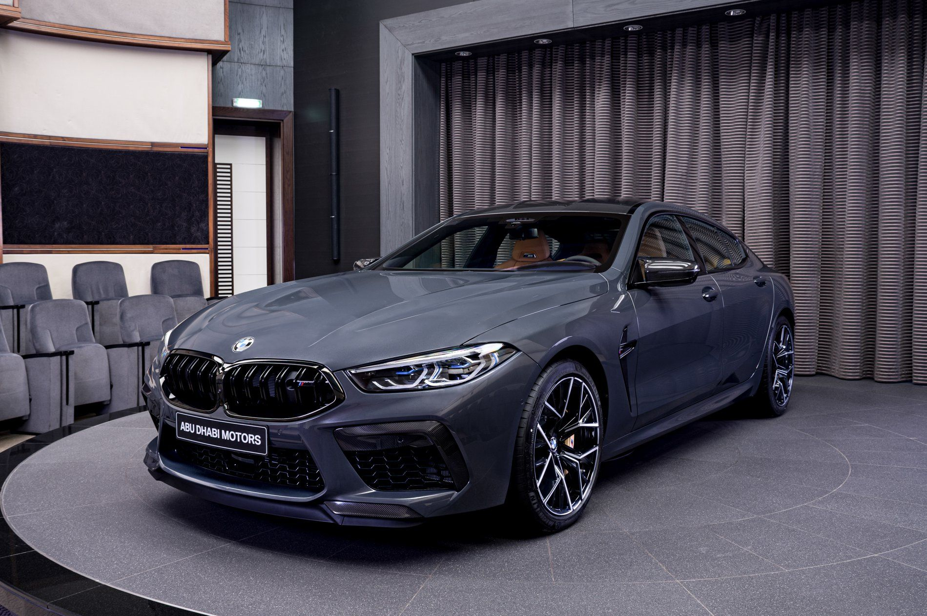 Stunning Bmw M8 Competition Gran Coupe Showcased In Brands Hatch