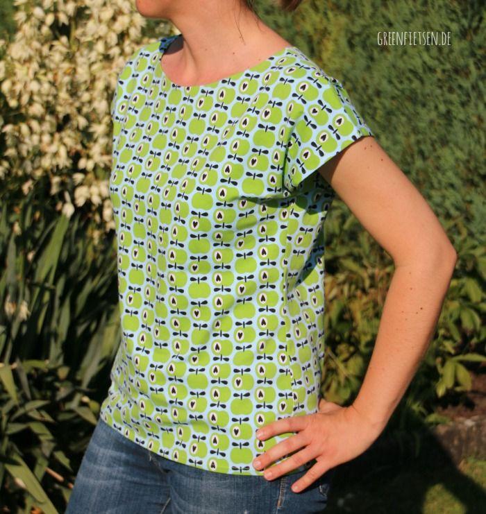 Kimono Tee - Freebook von Maria Denmark | nähen | Pinterest | Nähen ...