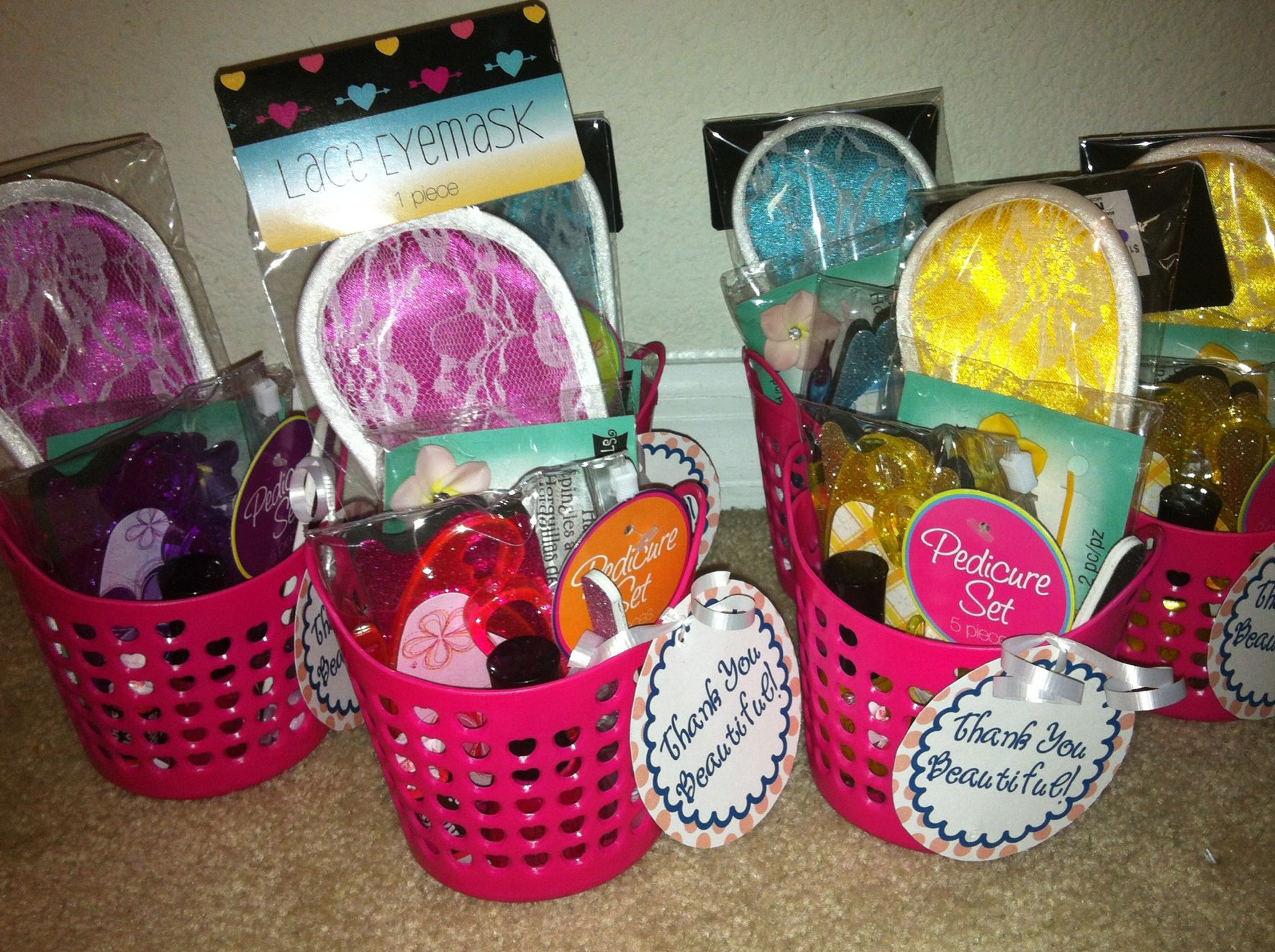 Goodie Bags For The Girls Spa Party Sleepover Gift