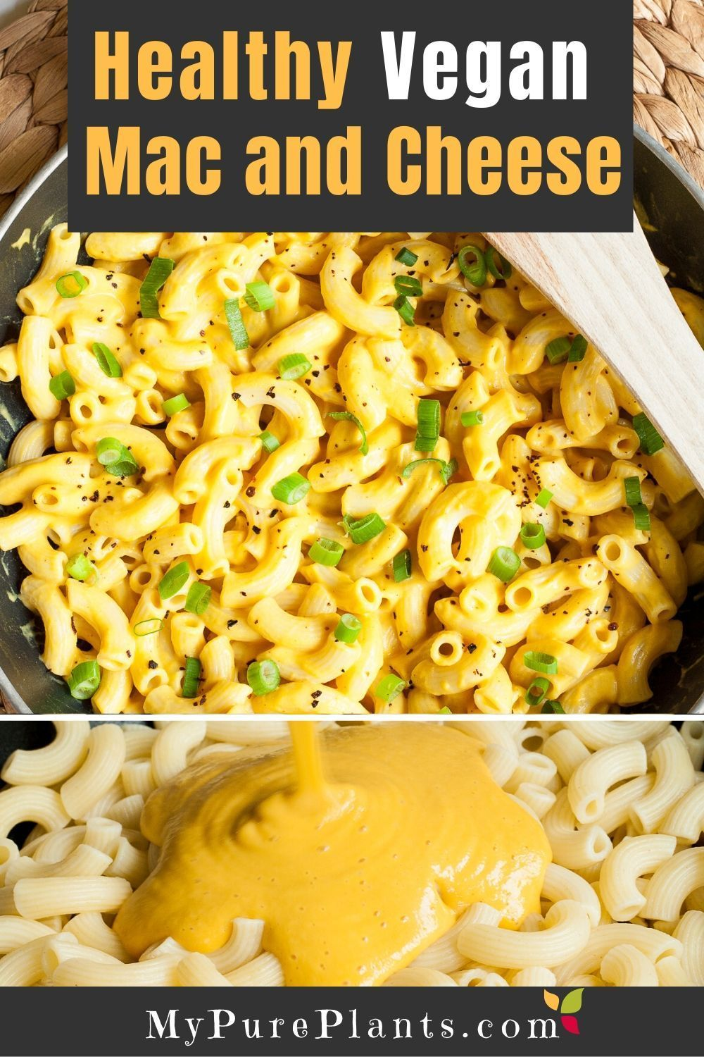 Healthy Vegan Mac And Cheese No Nuts Recipe In 2020 Vegan Mac And Cheese Vegan Recipes Healthy Mac And Cheese Healthy
