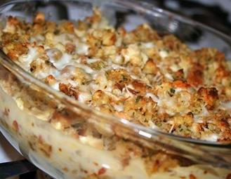 look to al this ideas: Chicken Stuffing Casserole
