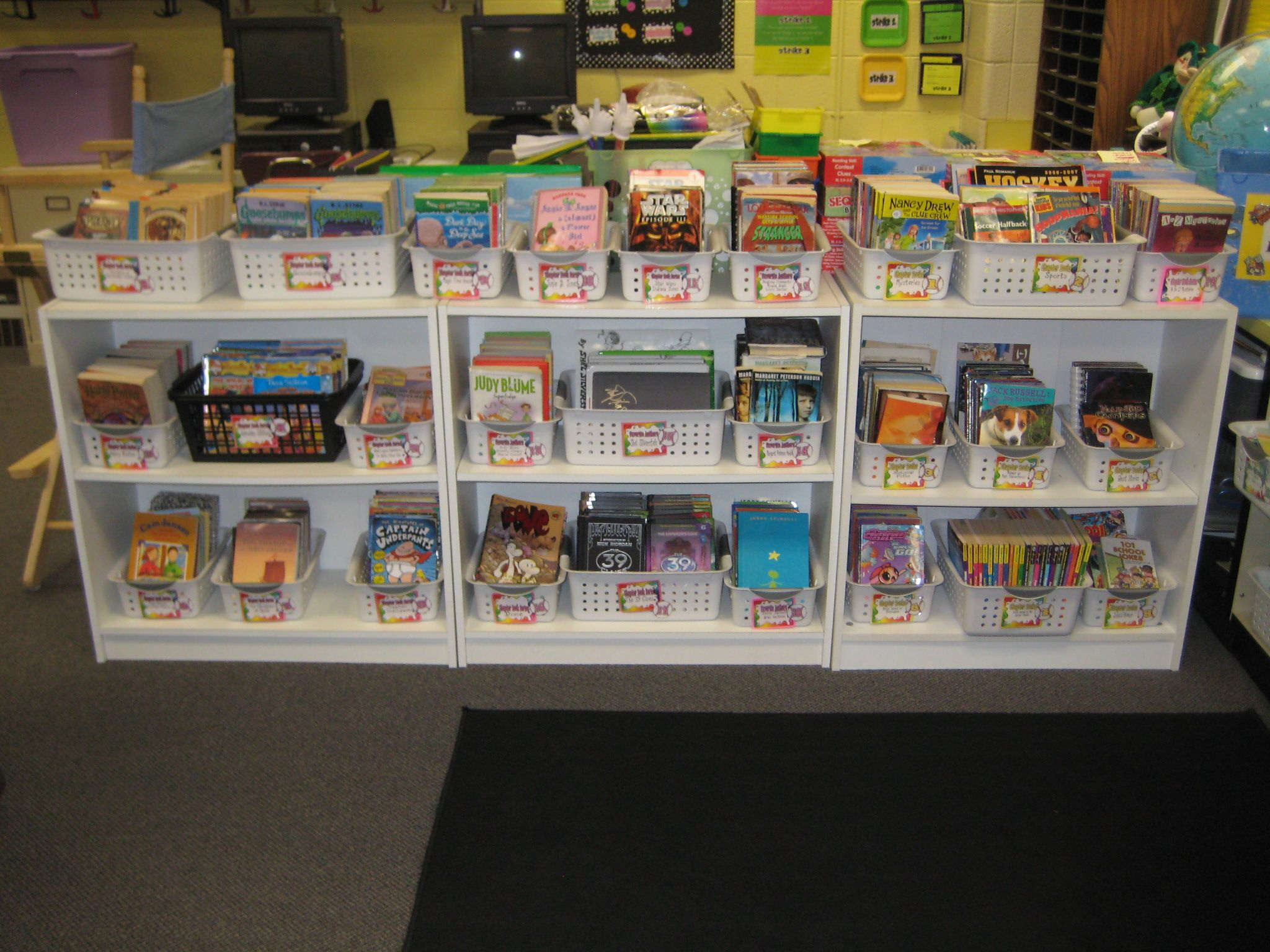 4th Grade Library Grouped By Series And Then By Guided