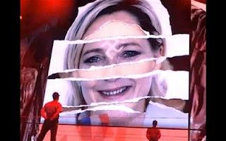 Madonna Pisses Off Marine Le Pen With Swastika Video