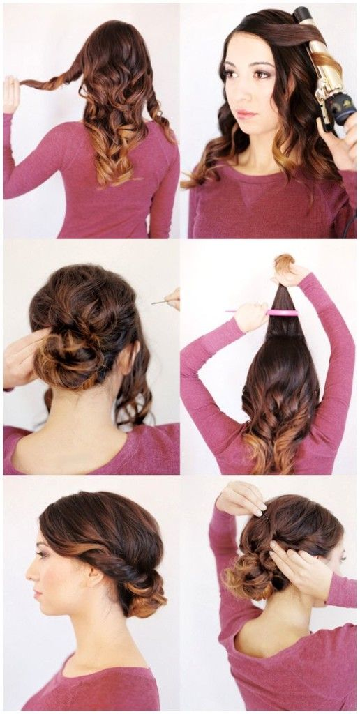 Wedding guest hairstyles easy to do