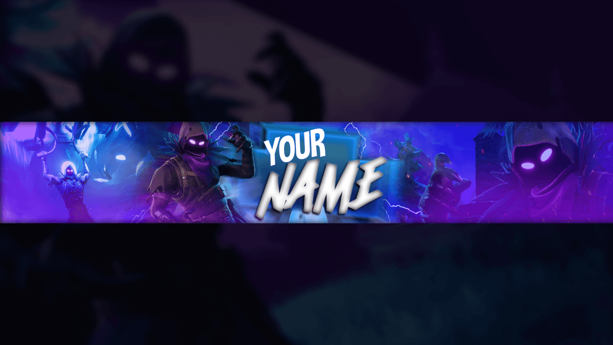 Fortnite Youtube Banner Free Psd Download 4 Fortnite Pinterest