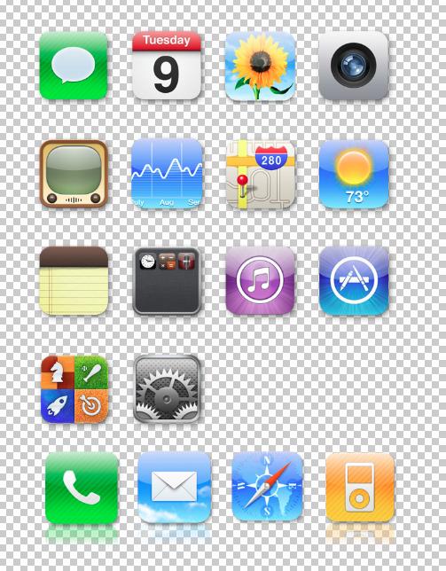 Iphone 4 Icon Pack By Reymond P Scene Deviantart Com On Deviantart Iphone 4 Iphone Icon Pack