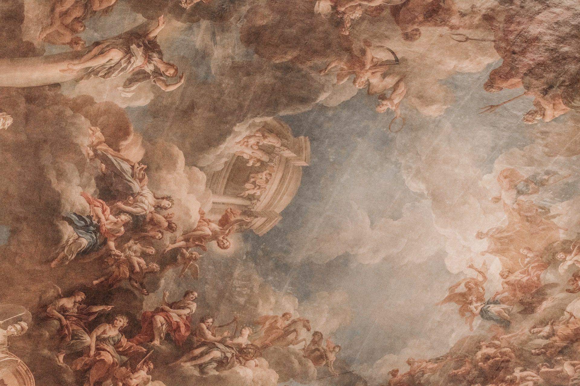 The Walls Are So Beautiful   Roman Painting, Renaissance Art, Scenery  Wallpaper
