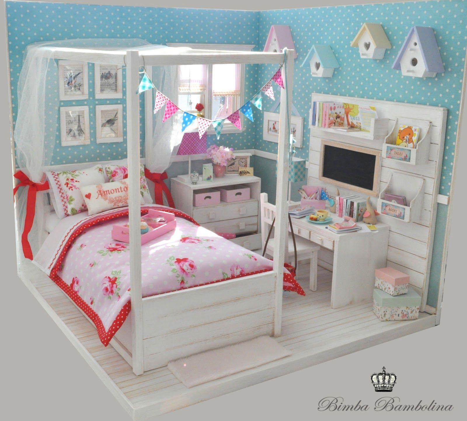 Cama princesa diorama pinterest camas princesas y - Cama princesa nina ...