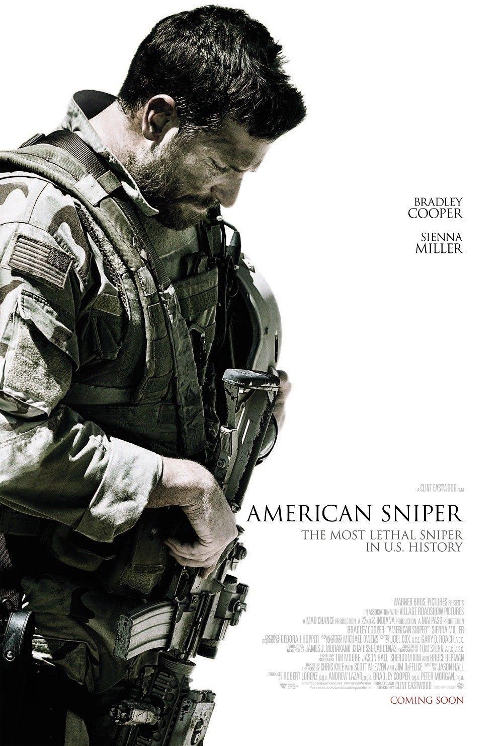American Sniper Affiche Film Films De Guerre Films Complets Gratuits