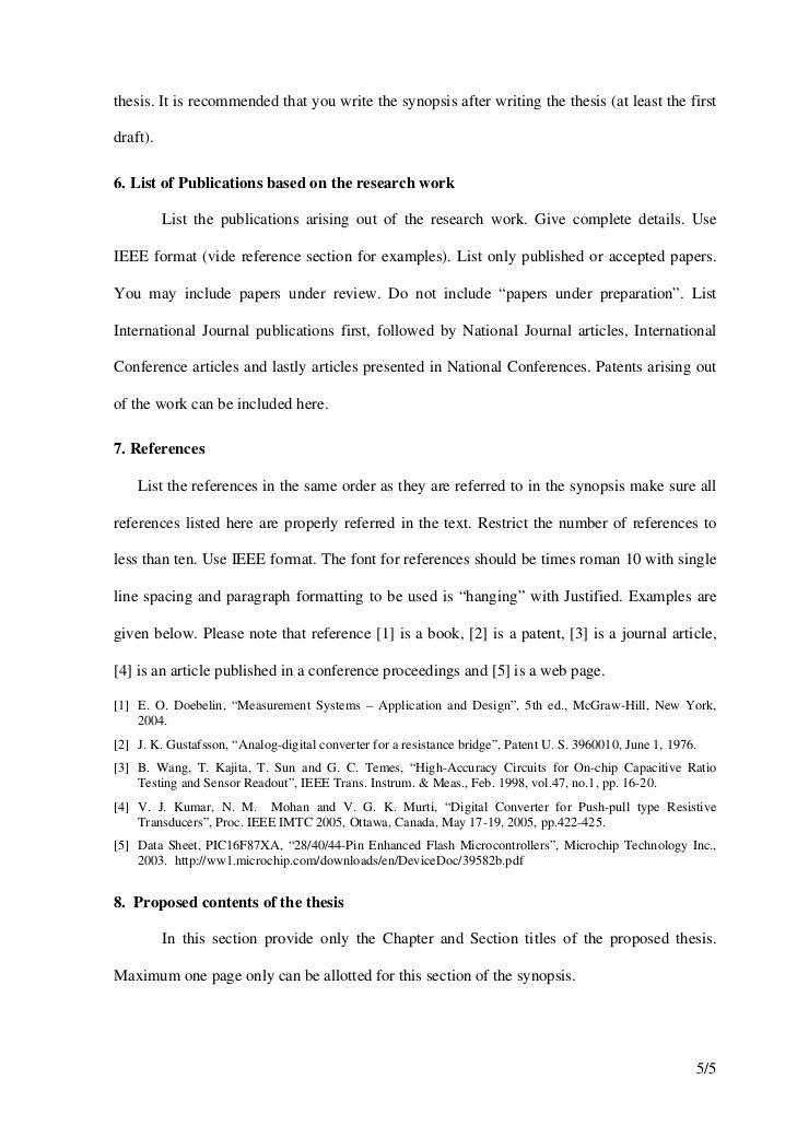 List Of Publications Format    Google  CvList Of