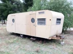 1954 westwood holiday travel trailer 23' - Google Search