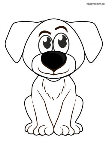 hundewelpen malvorlage  malvorlagen hunde und hunde welpen